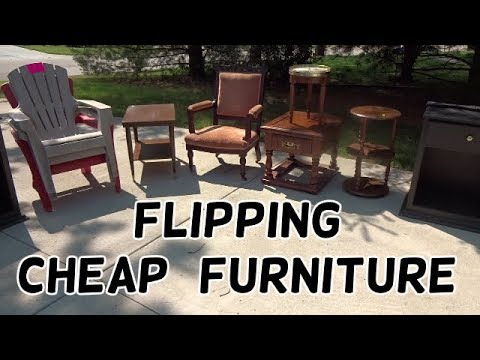 Flipping Cheap Furniture on Facebook - Flips & Finds #47