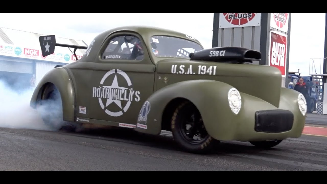 Vw Action 1941 Willys Coupe Roar Willys 8 55