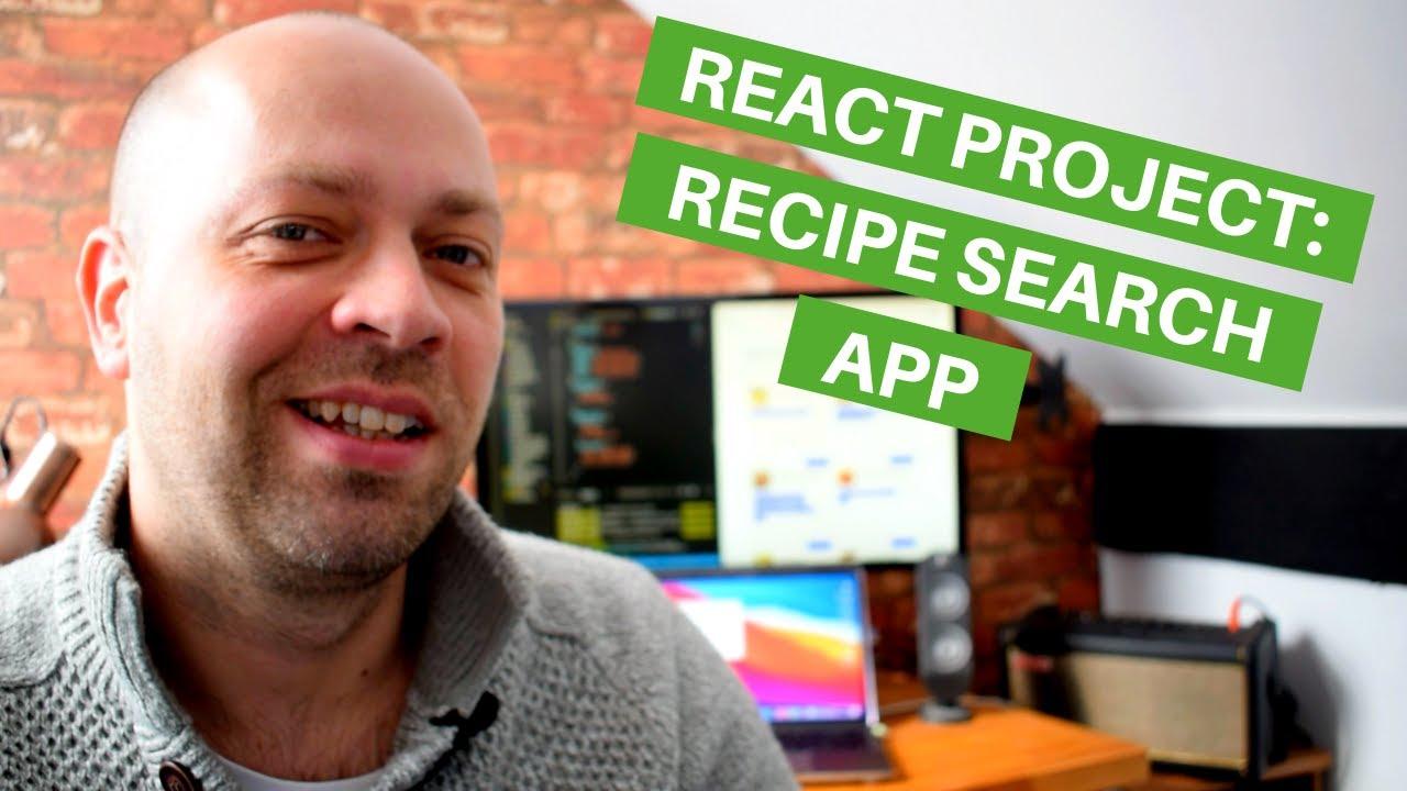 React Project: Recipe Search App (using TypeScript)