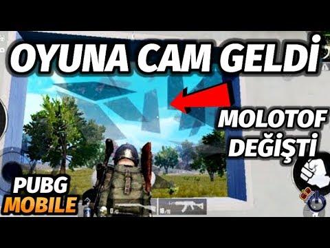 OYUNA CAM GELDİ YENİ MOLOTOF GELDİ PUBG Mobile 0.19 GÜNCELLEMESİ