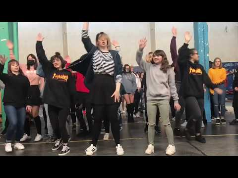 K-Pop random dance game - Stuttgart - March 2018