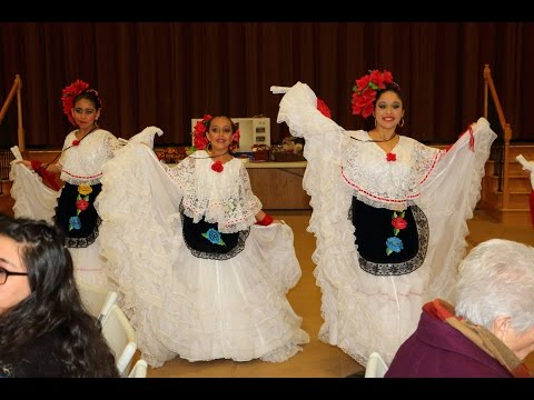 Ballet Folklorico Jalisco de Tracy performs at St Bernard's Church 12 12 15