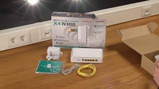 Unboxing e installazione di Sitecom WLM-4600 Wi-Fi Router X4 N300 - ITALIANO