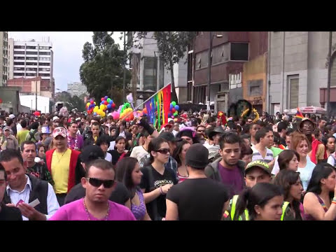 Marcha Orgullo Gay LGBTI Bogotá 2010 from YouTube · Duration:  4 minutes 5 seconds
