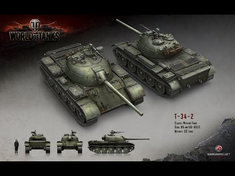 World of Tanks Review: T-34-2
