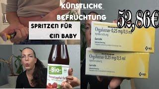 Kinderwunsch #4/1.-11. Zyklustag/Spritzen für ein Baby /Hormon Tagebuch/icsi