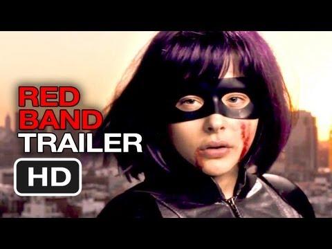 Kick-Ass 2 Official International Red Band Trailer #1 (2013) - Chloe Moretz Movie HD
