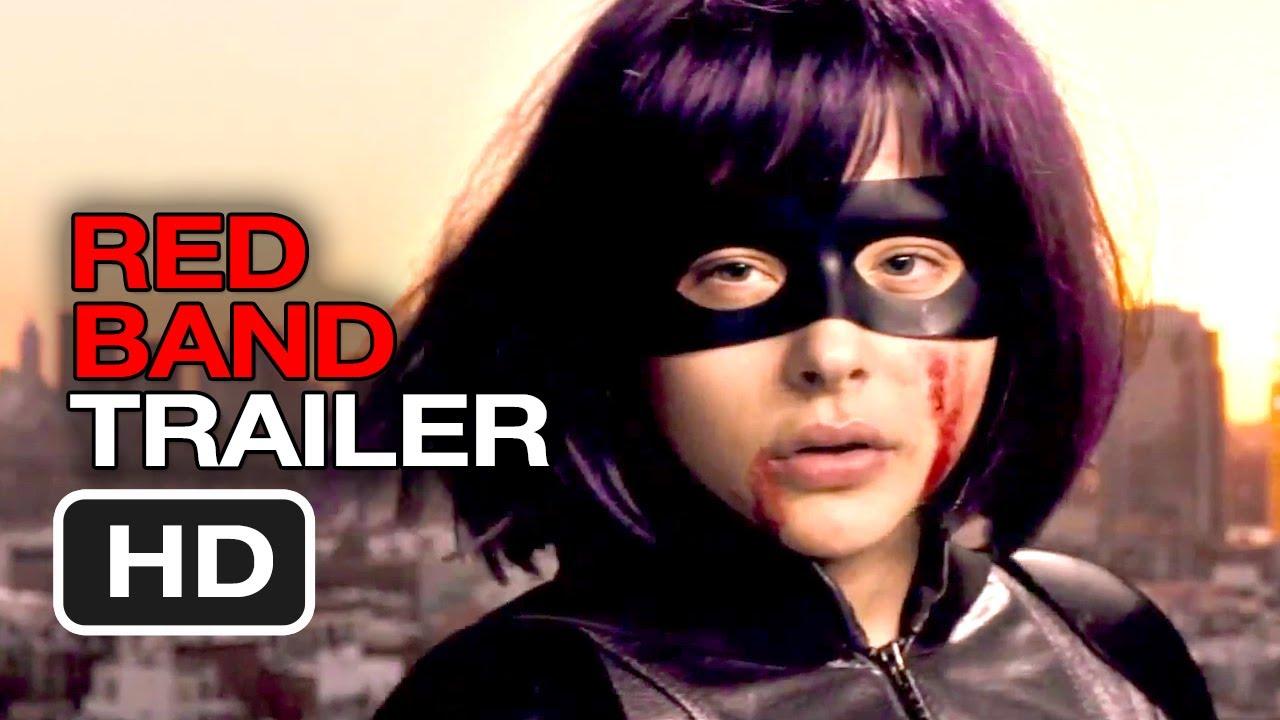 Download Kick-Ass 2 Official International Red Band Trailer #1 (2013) - Chloe Moretz Movie HD