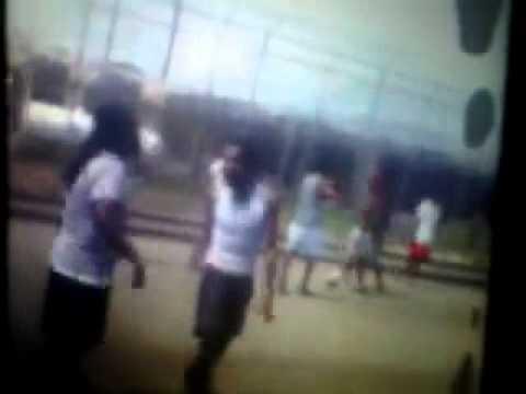Vybz Kartel Playing Football in prison yard