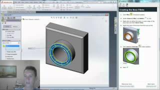 Solidworks Lesson 1: Parts - Tutorial Walkthrough