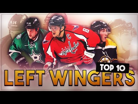 RANKING THE TOP 10 NHL LEFT WINGS
