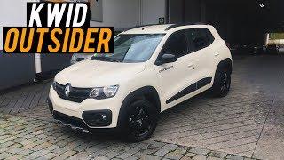 Avaliação | Novo Renault Kwid Outsider 1.0 2020 | Curiosidade Automotiva®