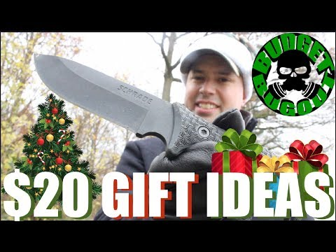 $20! -- Top 10 Best Gift Ideas For Men: Outdoor / Everyday Carry Gear | Christmas Gift Ideas For Him