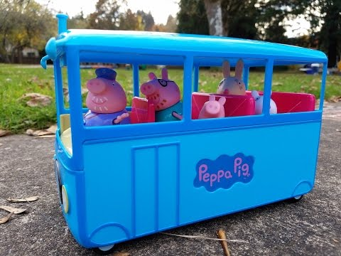 Thumbnail: Peppa Pig & Minnie Mouse This Little Piggy Went to Market Nursery Rhyme Song Playground Fun for Kids