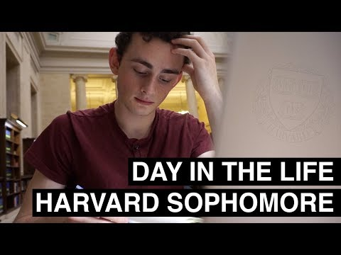 A Day in the Life of a Harvard Sophomore 2019