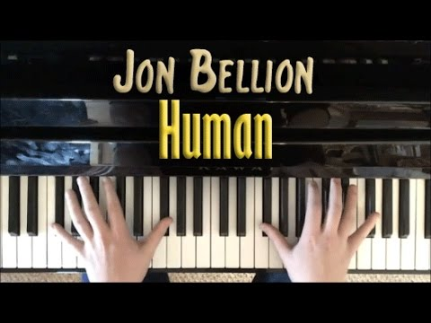 Human | Jon Bellion Piano Cover