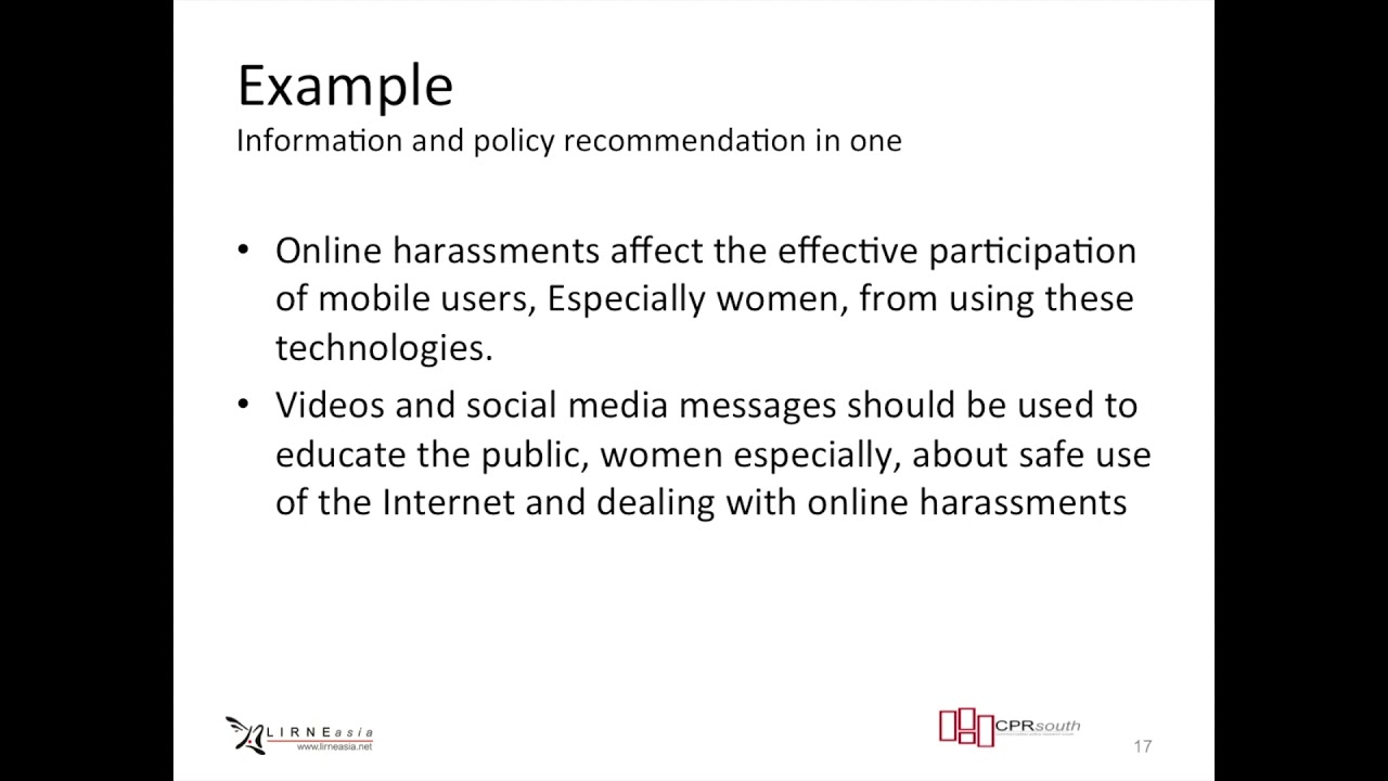 CPRsouth Module 28 How to Write a Policy Brief
