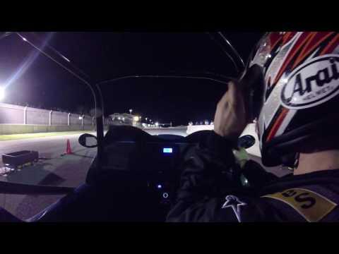 Westfield MegaWatt electric car drag race in Barbados