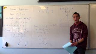 Solving Inequalities Graphically