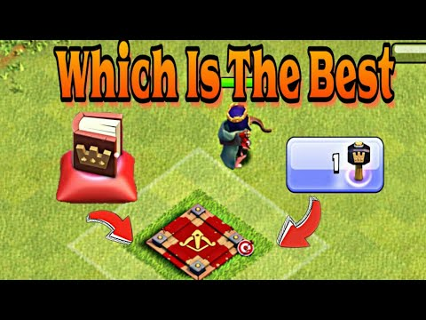 COC !!! Let's Use Hammer Of Heroes!!! Which Is The Best Hammer Or Book !!