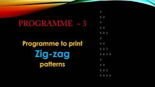 HOE MAAK GEWELDIGE ZIGZAG GROEIENDE PATROON IN C |DEV C++|