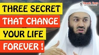 🚨THREE SECRET THAT CHANGE YOUR LIFE FOREVER 🤔  - Mufti Menk