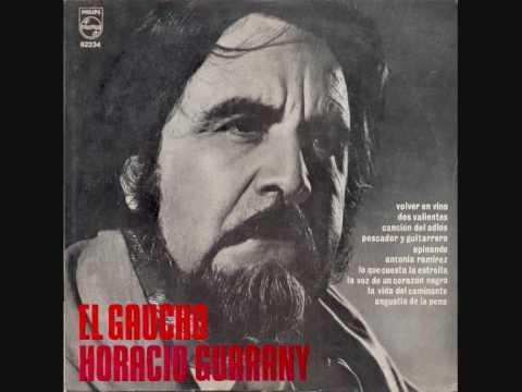 Horacio Guarany -Canción del adiós