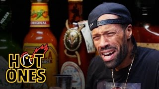 Redman Wilds Out Eating Spicy Wings | Hot Ones