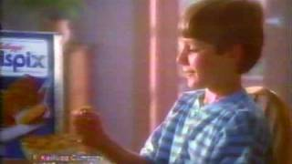 80's crispix cereal commercial