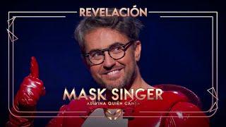 Máximo Huerta, desenmascarado como la Gamba | Mask Singer: Adivina quién canta