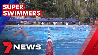 The Inspirational Youngsters Swimming 200 Kilometres 7NEWS