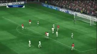 Pro Evolution Soccer 2010 - Uefa Champions League - GamePlay