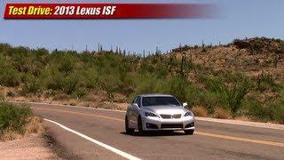 Test drive: 2013 Lexus IS-F