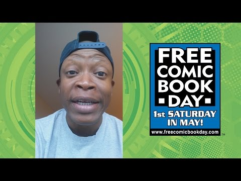 Actor Lawrence Gilliard tes Free Comic Book Day