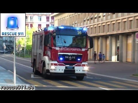 Police, Fire, Ambulances Geneva // Police, pompiers, ambulances Genève