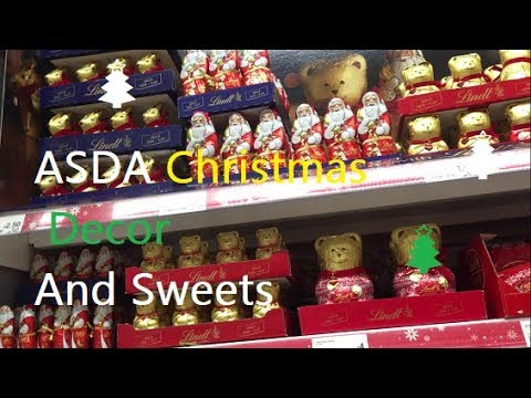 christmas decor at asda youtube. Black Bedroom Furniture Sets. Home Design Ideas