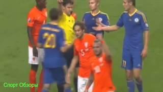 Нидерланды- Казахстан 3-1 Евро 2016 все голы