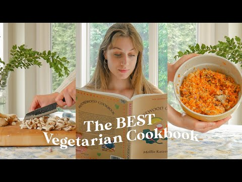 the BEST vegetarian cookbook?? *plant-based recipes from the 70s*