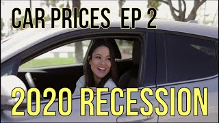 CAR PRICES: Part 2 - AUTO RECESSION 2020, 0% Financing - Auto Expert: The Homework Guy, Kevin Hunter