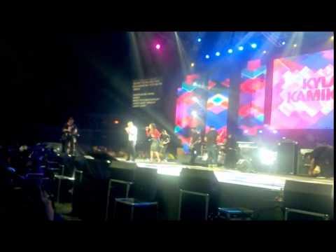 Huling Sayaw (clip) Kyla and Kamikazee at Myx Mo 2014 Live! at the Smart Araneta Coliseum