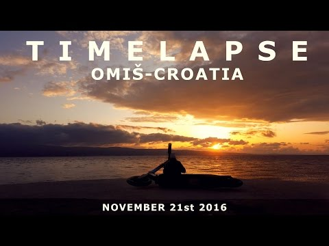 CROATIA - SUNSET TIMELAPSE