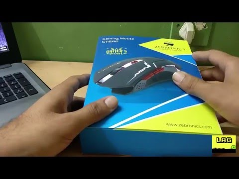 Zebronics Gaming Mouse STEAM (Best gaming Mouse For the Price) Unboxing and review