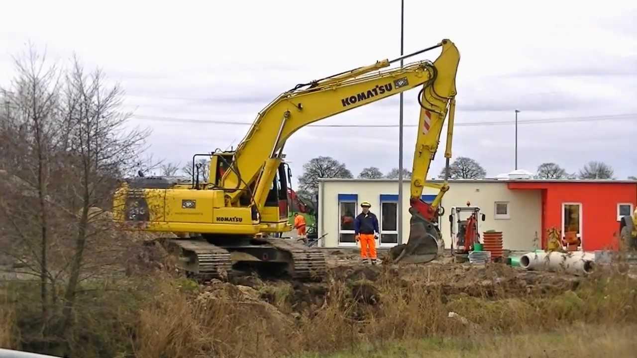 Hydraulikbagger Komatsu Pc210 Lc Excavator Komatsu Pc210