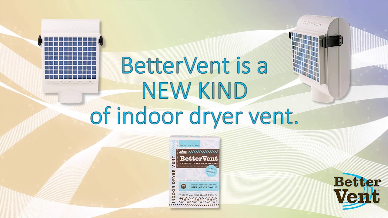 Introduction To The Bettervent Indoor Dryer Vent Youtube