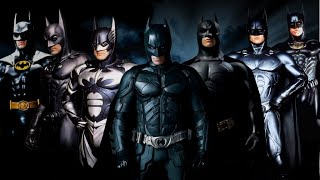 Batman (the dark knight) rises - movies trailers 1989 - 2012