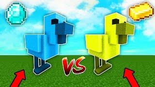ELMAS VS ALTIN TAVUK ŞANS BLOKLARI! 😱 - Minecraft