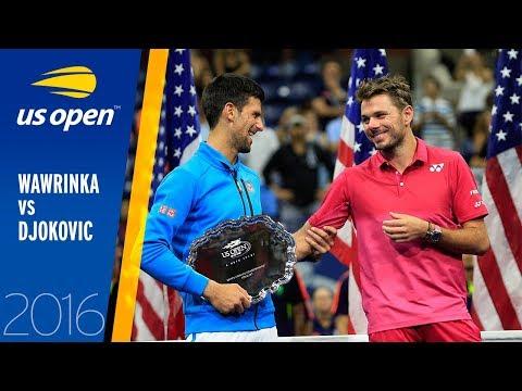 Stan Wawrinka Vs Novak Djokovic Full Match Us Open 2016 Final Youtube