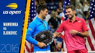 Stan Wawrinka vs. Novak Djokovic | 2016 US Open Final | Full Match