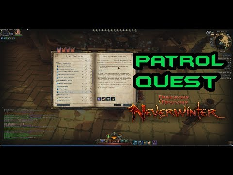 Neverwinter | Patrol Quests: Hunt and Gather | MOD12 | PC PS4 XBOX