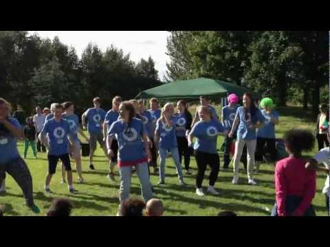 I love Jesus Dance in Manchester park Travel Video